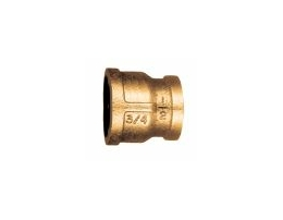 1 X 1/2 REDUCER COUPLING BRASS